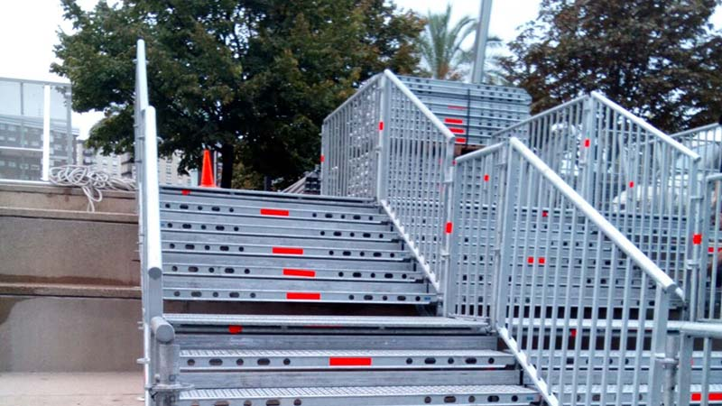 acceso escaleras